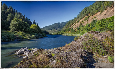 Rogue river   Took a jet boat ride up the river @ gold beach, OR