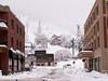 Street Scene with view of Town Ski Lift, Park City, Utah