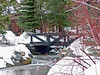 Bridge over Stream at Sundance Resort, Utah