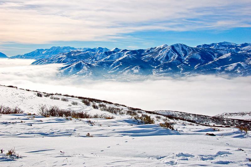 Mountain Vista near Park City, Utah