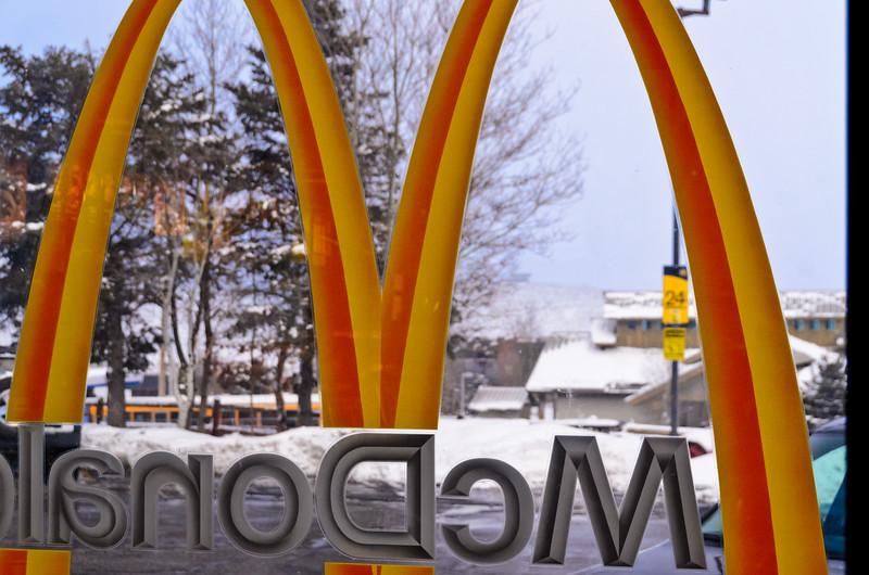 Golden Arches, Park City, Utah