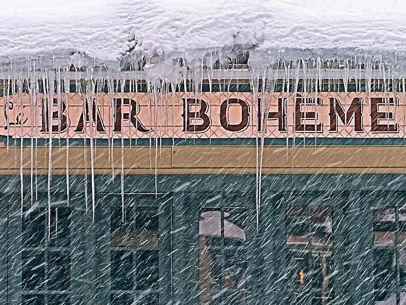 Bar Boheme, Park City, Utah