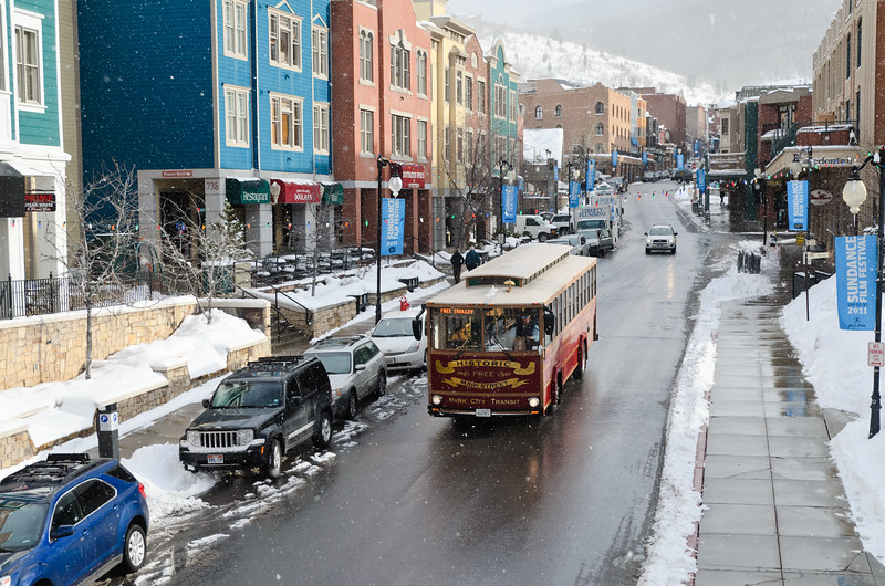 Main Street Trolley, Park City, Utah