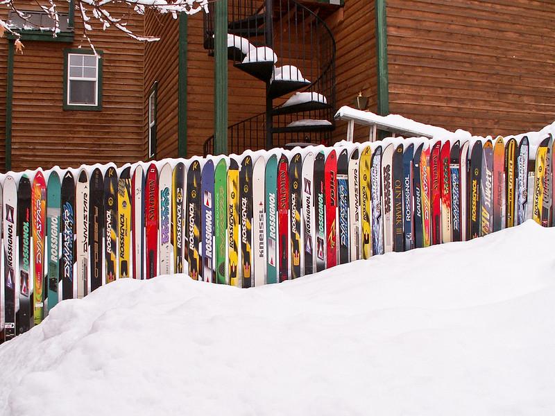 Ski Fence, Park City, Utah