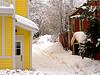 Snow Scene, Park City, Utah