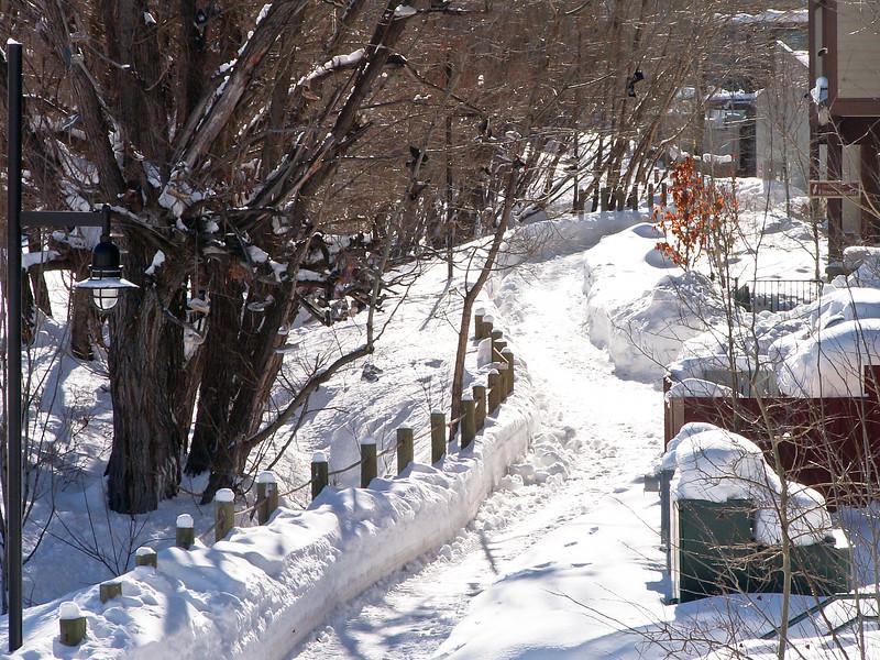 Snow Walk, Park City, Utah