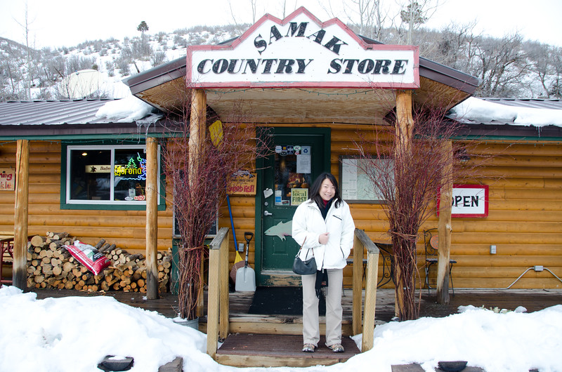 Samak Country Store, Utah--near Park City--famous for smoked fish and jerky