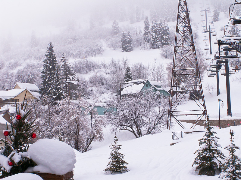 Town Ski Lift, Park City, Utah
