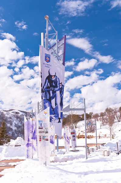 Olympic Park, Park City, Utah - Home of 2002 Olympics