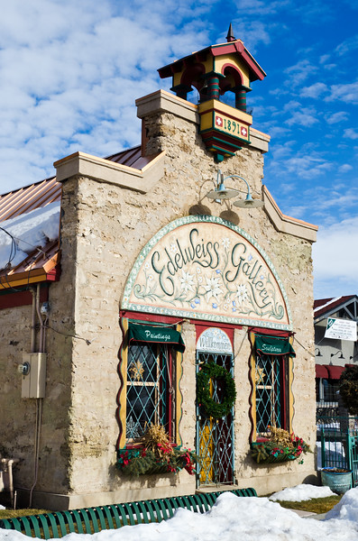Edelweiss Gallery, Midway, UT, a town settled by Swiss immigrants