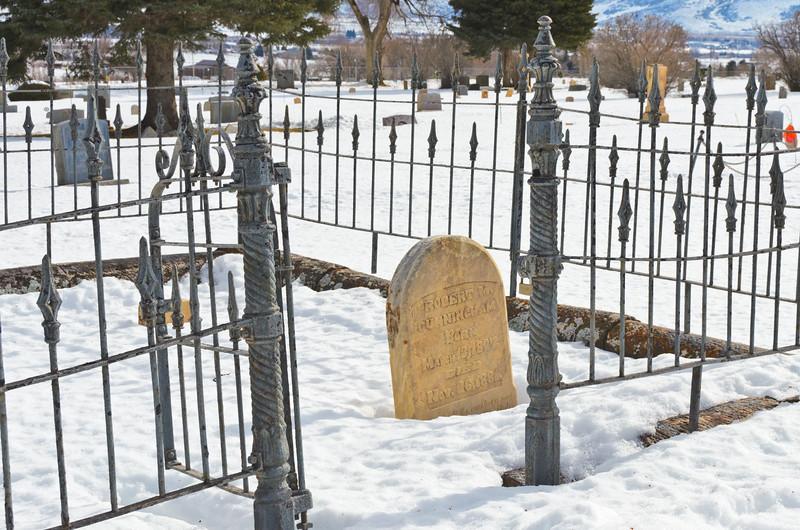 Grave marker, Midway, UT