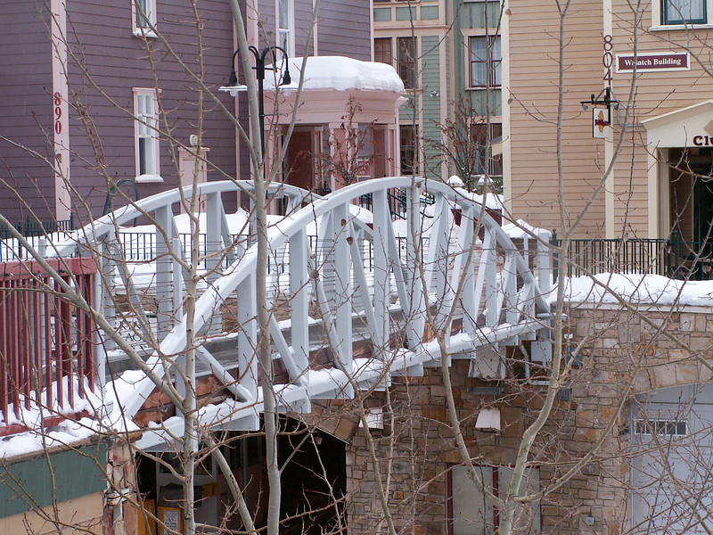 Bridge over Main Street, Park City, Utah