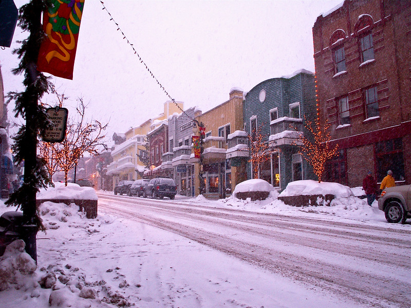 Street Scene, Park City, Utah
