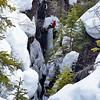 Ice Climber, Kootney National Park, Canada