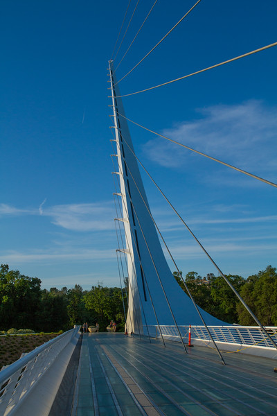 Sundial Bridge at Turtle Bay, Redding