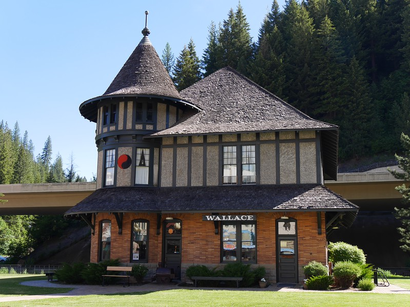 Wallace, Idaho: Northern Pacific Railroad Depot Museum