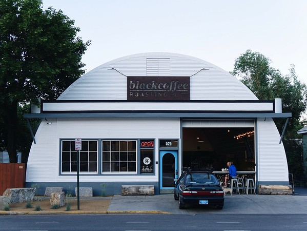 Black Coffee Roasting: Missoula, Montana. Absolutely delicious coffee!