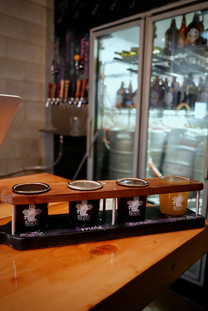Milton's Brewing: milk stout, mole stout, brown ale & buxom blonde ale