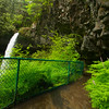 Beautiful waterfalls and trails at Silver Falls