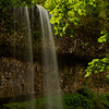 Waterfalls flowing at Silver Falls State Park, Oregon