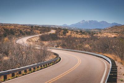 Winding Road in Southern Arizona