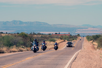 A Bumpy Road In Arizona