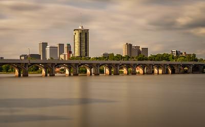 Tulsa Skyline and Arkansas River