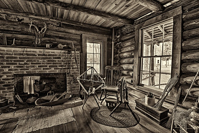 Pioneer House in the Pinellas County Heritage Village, Florida