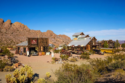 Nelson ghost town located in the El Dorado Canyon near Las Vegas, Nevada