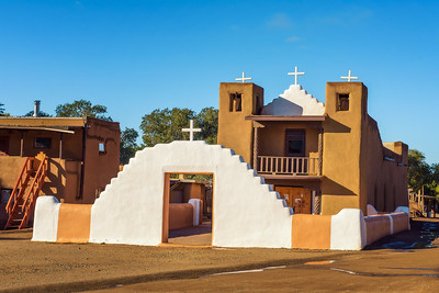 San Geronimo church in Taos Pueblo, New Mexico
