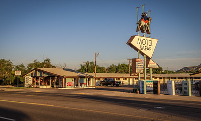 Historic Motel Safari on Route 66 in Tucumcari, New Mexico