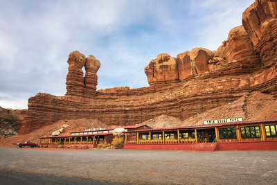Twin Rocks Cafe in Bluff, Utah