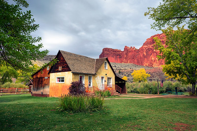 Historic Gifford farmhouse in Capitol Reef National Park