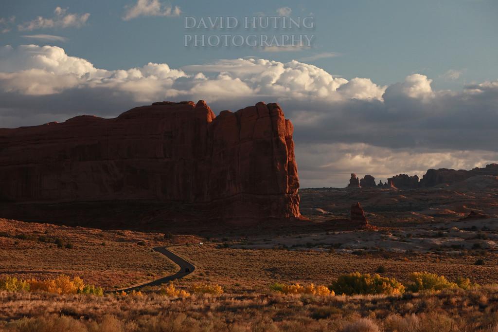 Epic Sunrise Road through Arches