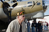 B17 bomber; WWII Veteran, David T. Hansen One of the only planes still flying from WWII. Wings of Freedom tour sponsored by Collings Foundation.