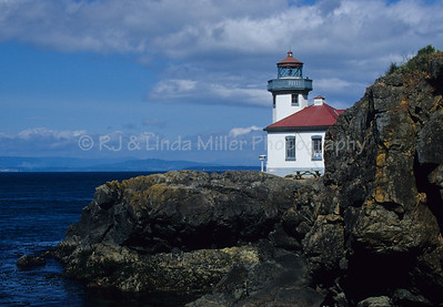 Lime Kiln Lighthouse, San Juan Islands, Haro Strait, Washington