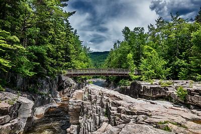 Bridge on the gorge