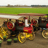 Vintage tractors at Woodburn Tulip Farm, Oregon