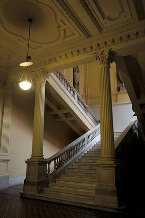 Inside the Casa Rosada, Buenos Aires