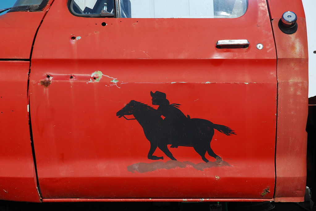 Tow truck in Pony Express, GA (Newton County) November 2008