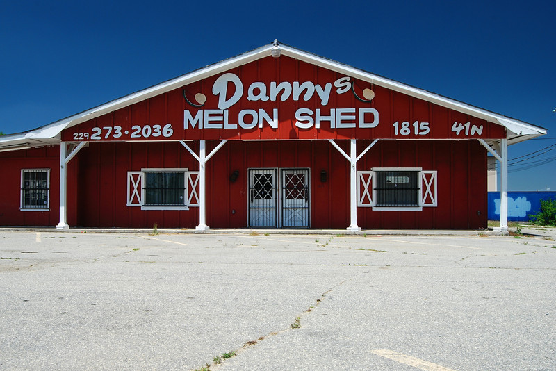 Danny's Melon Shed on U.S. 41 near Cordele, GA (Crisp County) May 2008