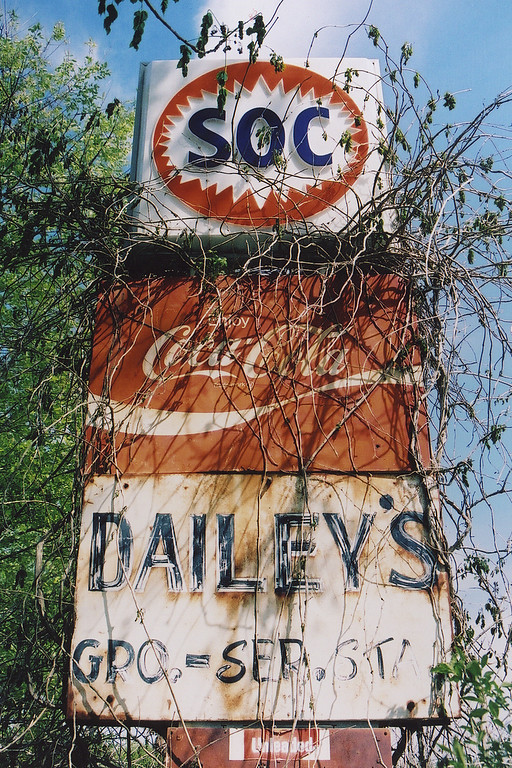 Abandoned store and gas station near Millen, GA (Jenkins County) 2007