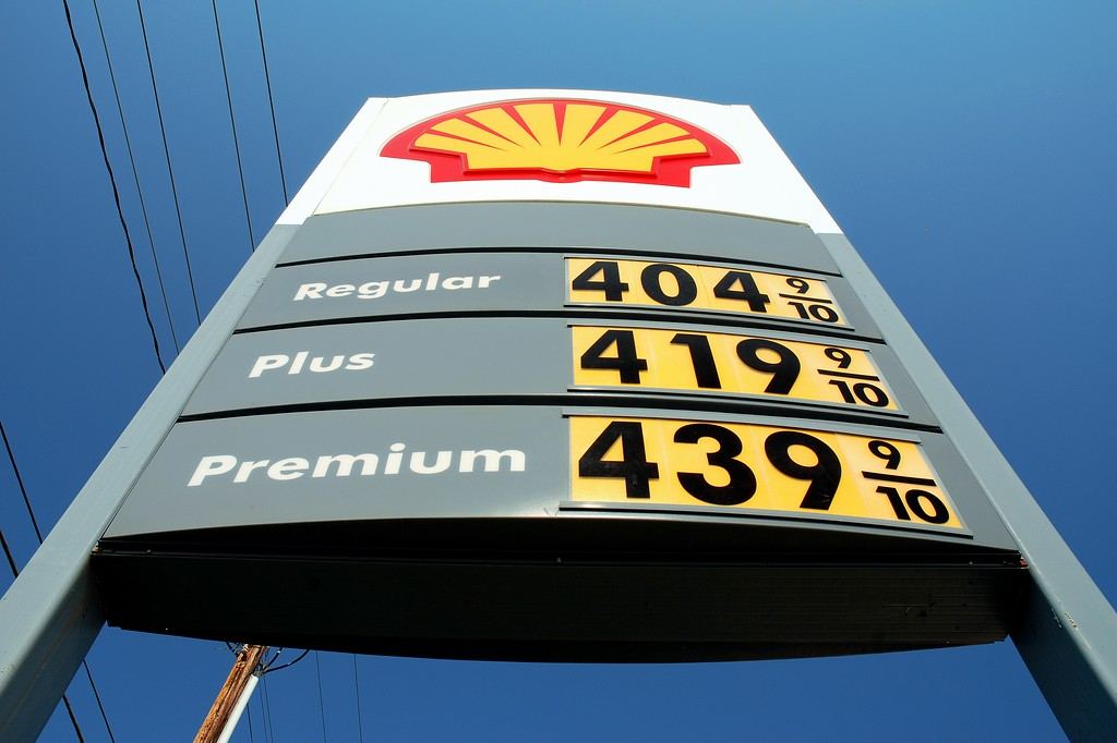 Gas prices jump over the $ 4 mark in Athens, GA (Clarke County) May 2008