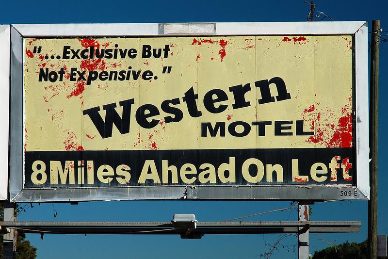 Billboard along U.S. 129, Jones County (GA) November 2008