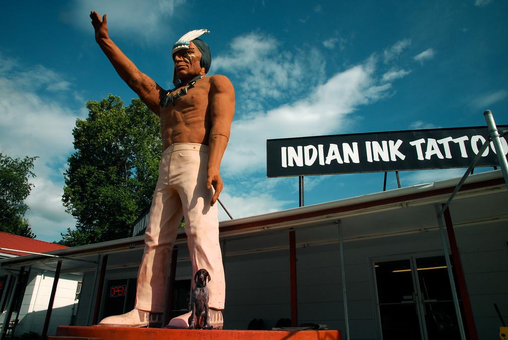 Cherokee, NC (Swain County) August 2011