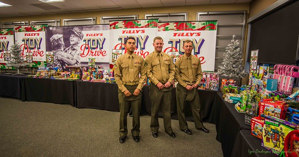 Tilly's Toy Drive LNMC