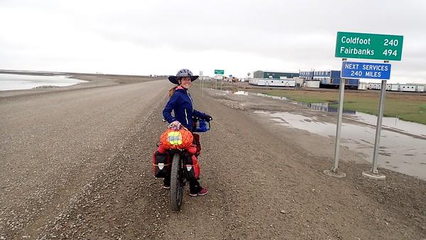 Riding across Alaska, July 2018  www.ThisRideHere.com