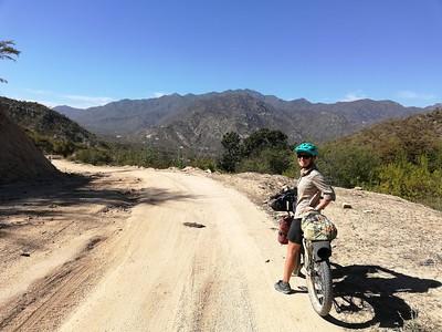 Climbing into the Sierra de la Laguna