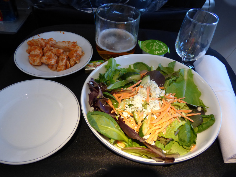 20140506 MIA-ORD 1530 buffalo chicken salad