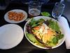 20140506 MIA-ORD 1530 buffalo chicken salad